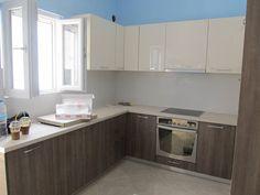 Ανακαίνιση Κουζίνας στο Μπουρνάζι - Ντουλάπια - Βαψίματα - Εντοιχισμός Kitchen Cabinets, Home Decor, Decoration Home, Room Decor, Cabinets, Home Interior Design, Dressers, Home Decoration, Kitchen Cupboards
