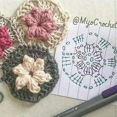 Fofuras para vocês #crochet #graficos #pattern #patron