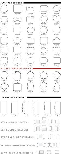 Black River Imaging | Specialty Shaped Greeting Cards #blackriverimagingchristmas