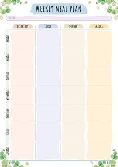 Cute Printable Calendar 2020 Monthly Free ⋆ The Best Printable Calendar Collection Meal Calendar, Calendar May, Printable Calendar 2020, Cute Calendar, Blank Calendar Template, Calendar Design, Weekly Planner Template, Weekly Meal Planner, Make Your Own Calendar