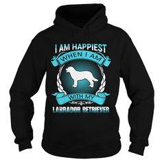 Happiness with labrador retriever dog shirt