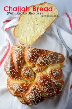 Challah Bread recipe with step by step pics to make it super easy to make at… Challah Bread Recipes, Brioche Bread, Easy Bread Recipes, Banana Bread Recipes, Cooking Recipes, Cake Recipes, Healthy Recipes, Sicilian Recipes, Jewish Recipes