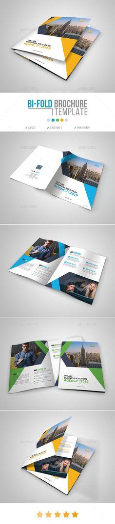 Corporate Bi-Fold Brochure Template 15