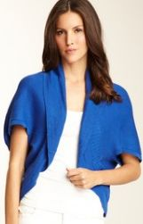 Anne Klein...Cocoon Open Shrug  $40.00...55% off..2 Colors...Ends Saturday 4/14 at 8AM Pacific