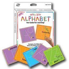 Wikki Stix Alphabet Cards