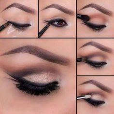 imagenes de maquillaje de noche paso a paso - Buscar con Google