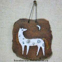 Ceramic horse by Korn
