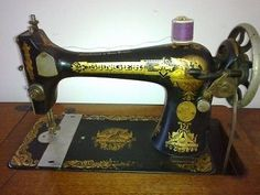 Singer 127 on a treadle