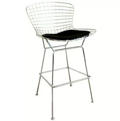 Bertoia Style Wire Barstool in Chrome at www.dcgstores.com - Sales $175.00