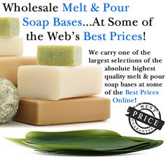 I love this site. They have great customer service too!  I have ordered my shea butter and essential oils so far. need to order more! melt and pour soap base wholesale