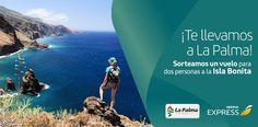 ¡Apúntate y ayúdame a ganar un vuelo a #LaPalma con @iberiaexpress! @visitalapalma