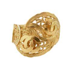 Elaborate Chanel 95A Cuff Bracelet...yes please...b♡