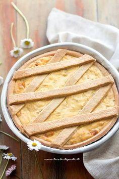 Pastiera salata - Ricetta Pastiera salata Ricotta, A Food, Good Food, Best Italian Recipes, Recipe Boards, Easter Recipes, Real Food Recipes, Buffet, Cooking