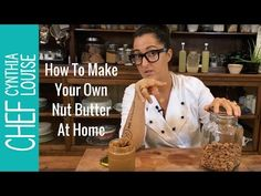 It's easy to make your own nut butter at home. It's one simple ingredient & a blender. Let me show you how simple this to make at home...