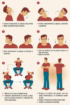 ejercicios para relajar el cuello y hombros