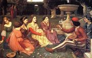 A Tale from the Decameron 1916  by John William Waterhouse