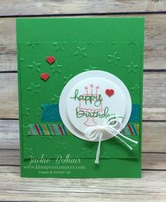 You've heard the buzz….what's it all about??? Have you joined the movement???? If you have no clue what I am talking about, CLICK HERE to read my original blog post that explains what the above stamp is all about!! Anyways, I want to share these quick and easy birthday cards using ENDLESS BIRTHDAY WISHES. Inside: …