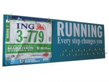 RUNNING - every step changes you - medals display rack 44.99 ...so it is.