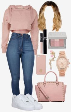 52 Teenager Outfits To Rock Your Winter Style - Woman Clothes - Modetrends Teenager Outfits, Swag Outfits For Girls, Cute Outfits For School, Cute Swag Outfits, Teenage Girl Outfits, Teen Fashion Outfits, Look Fashion, Stylish Outfits, Casual Teen Fashion