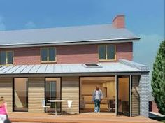 zinc roof extension - Google Search