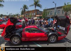 Ferrari OVERLOAD: 001 Tames The Prancing Horses At Pasadenas Ferraris On Colorado Concorso - AutoSpies Auto News