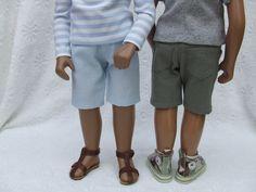 Shorts for 16/17 Sasha Gregor Doll by APassionforSasha on Etsy