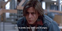 Let's not forget how hot he was. | 18 Reasons You Had A Crush On John Bender From The Breakfast Club