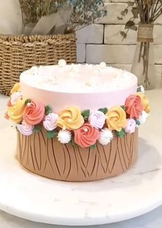 Cake Decorating For Beginners, Creative Cake Decorating, Cake Decorating Videos, Cake Decorating Techniques, Creative Cakes, Cake Recipes Without Oven, Cake Recipes From Scratch, Bolo Drip Cake, Cake Decorating Frosting