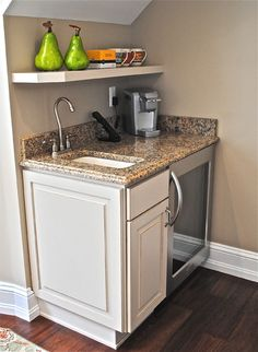kitchen cabinets pinterest kitchen bar microwave sink mini fridge wine rack 3171