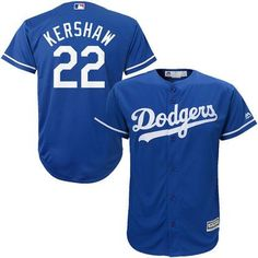 super popular 6ba3e 905cb Clayton Kershaw Los Angeles Dodgers Majestic Official Cool Base Player  Jersey