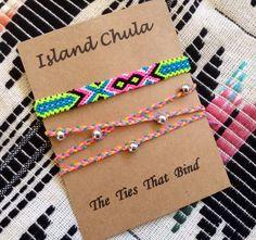 Bracelet set/Friendship Bracelet/Wrapped Beacelet by IslandChula, $13.50