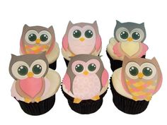 Items similar to Owl Cake Topper - 12 Edible Cupcake Decorations, Birthday Cake, Baby Shower Ideas on Etsy Monkey Cupcakes, Owl Cupcakes, Animal Cupcakes, Birthday Cupcakes, Owl Birthday Parties, Girl Birthday Themes, Birthday Party Decorations, Birthday Ideas, Cupcake Decorations
