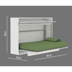 Multimo Genio Twin Murphy Bed & Reviews | Wayfair