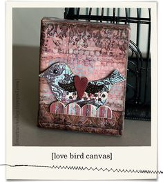 love bird canvas