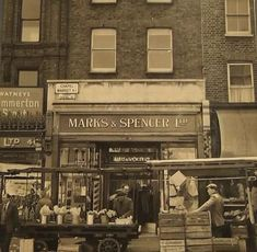 """Alan Russell on Twitter: """"Chapel market Islington Marks & Spencers shop… """" Vintage London, Old London, East London, North London, Candid Photography, Documentary Photography, Street Photography, Old Pictures, Old Photos"""