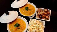 Sopa de cenoura com gengibre e mel - By Henrique Akira