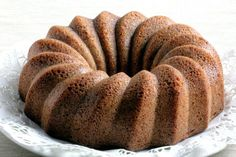 Low-Carb Cinnamon Bundt Cake (Dairy-Free) - Low-Carb, So Simple! | Low-Carb, So Simple! -- gluten-free, sugar-free recipes with 5 ingredients or less