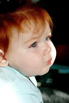 I have a 16 you red head son. :) Because you really want a beautiful redhead baby some day! 22 Signs You're A Natural Redhead So Cute Baby, Cute Kids, Cute Babies, Pretty Baby, Beautiful Red Hair, Beautiful Redhead, Beautiful Eyes, Beautiful Children, Beautiful Babies