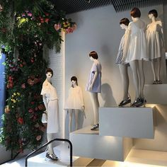 "ZARA,London,UK, ""Commit your trendy terrarium to the bottom shelf and switch to suspended flora-hanging gardens"", (silk/dried or living), pinned by Ton van der Veer"