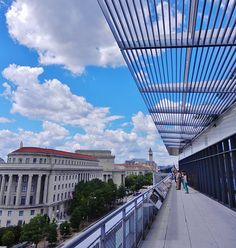 Newseum Balcony - If you only have time for one museum next time you're in Washington, D.C., visit the Newseum.