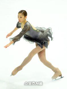 Kim Yuna is a South Korean figure skater