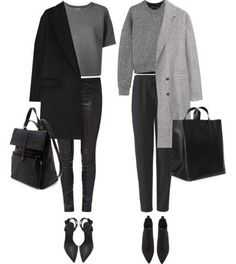 MINIMAL + CLASSIC - Just Black and Grey, the best shades for anyone's closet!