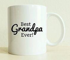 Best Grandpa Ever Mug | Coffee Mug | Gift for Him | Positive Vibes | Husband Gift | Tea Lover Mug | Coffee Lover Gift | Gift for Grandpa * You can get additional details at the image link.