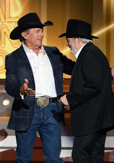 George Strait - 49th Annual Academy of Country Music Awards Show and the Hag