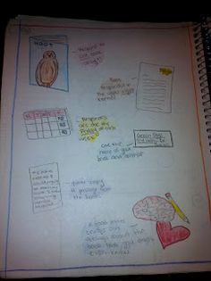 A Teacher's Treasure: Interactive Student Notebook - Reading - My Pride & Joy!