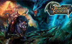Dragon Knight Crea un nuevo personaje y participa en las semi batallas con monstruos y brujas seductoras.