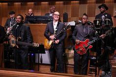 Joe Bonamassa Blues guitarist Supreme on The Tonight Show starring Jimmy Fallon and the Roots Band.
