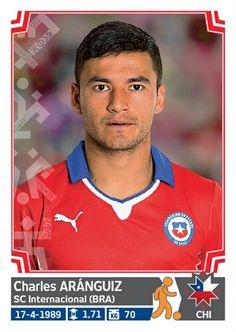 035 Charles Aránguiz - Chile - Copa America Chile 2015 - PANINI