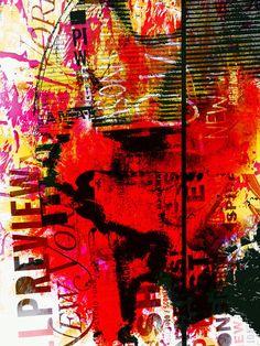 'The unknown woman goes crazy' von Gabi Hampe bei artflakes.com als Poster oder Kunstdruck $23.56