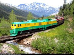 White Pass Locos trains - on my bucket list - an awesome trip in Alaska.